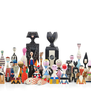 Wooden Dolls Collection