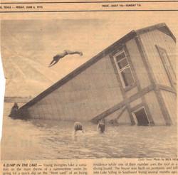 Vilbig Lake Floating House Sinkse