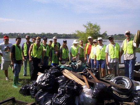 Fall Lake Cleanup September 2001