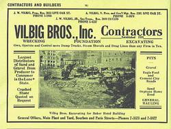 1932 Lake Vilbig Yellow Pages Ad
