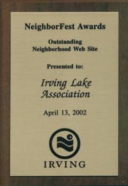 ILA Wins Outstanding Neighborhood Web Site