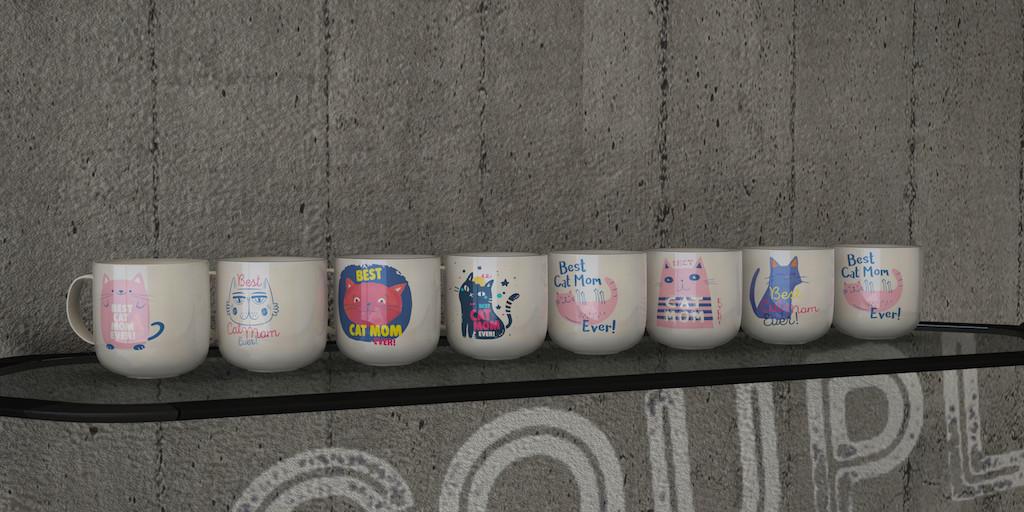 Mugs For Cat Mom