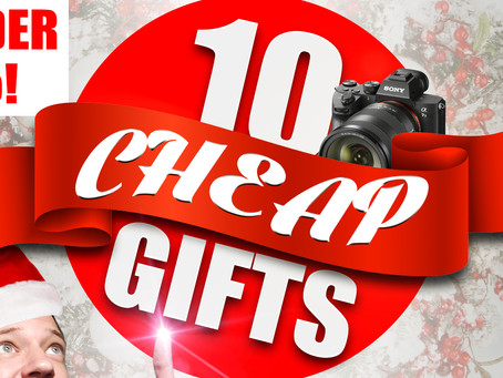 10 Cheap Gifts for Photographers! Christmas 2020!