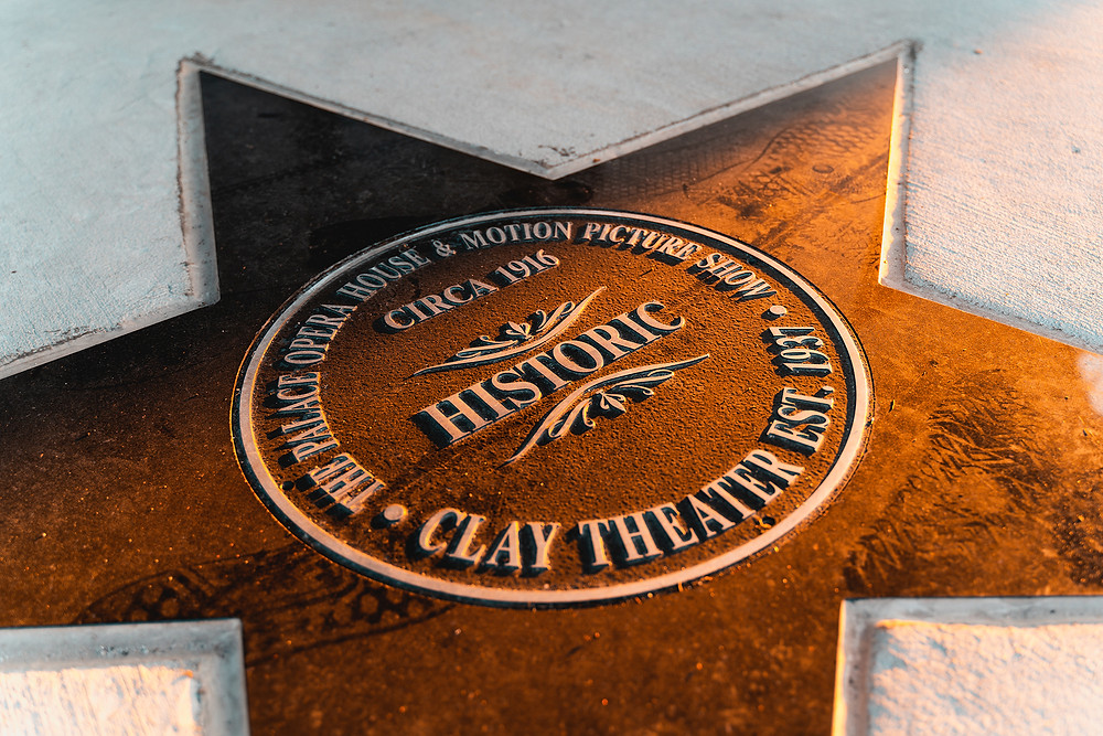The historic Clay Theatre star in Green Cove Springs.