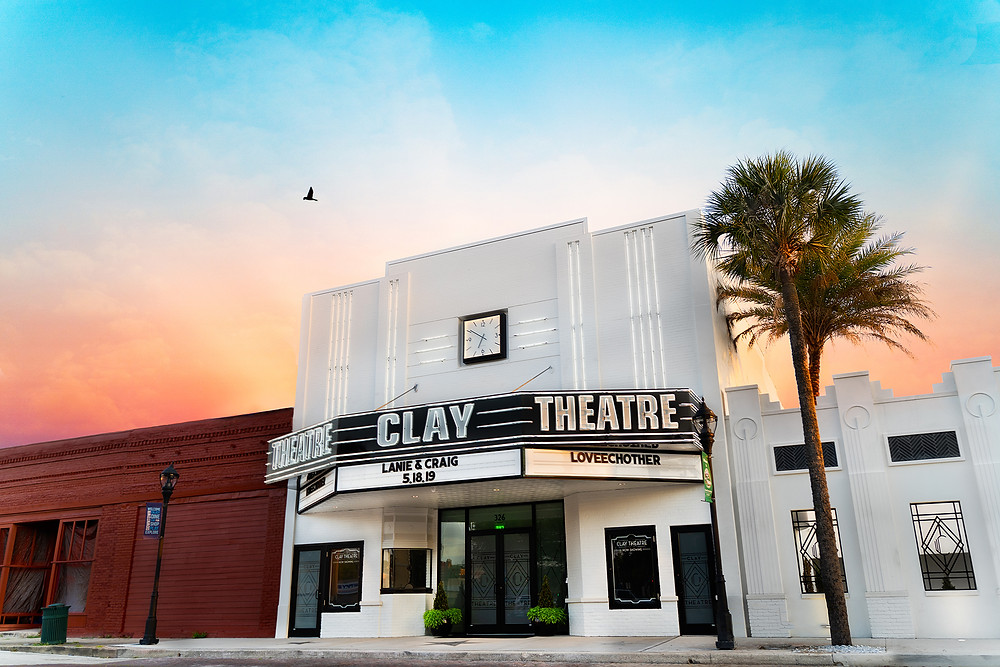 The Clay Theatre Wedding venue in Green Cove Springs.