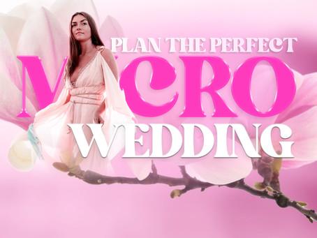 Plan the Perfect Micro Wedding