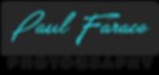 Paul Farace Photography Logo Transparent