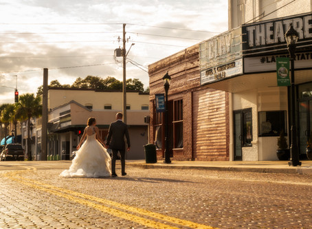 Modern Art Deco Wedding at The Clay Theatre