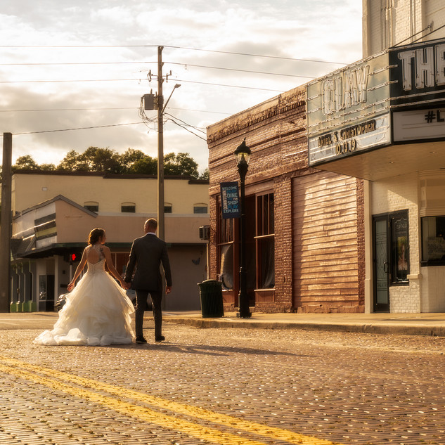 Just Married at The Clay Theatre