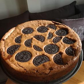 עוגת בראוניז אוראו בצל הקורונה