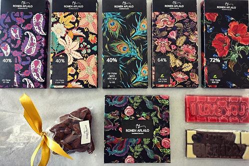 מבחר שוקולד לבניית מארז אישי לפי בחירה