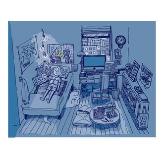 深夜ラジオ