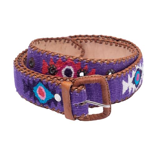 Purple Mexican Belt