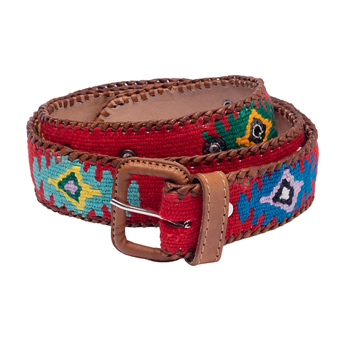 Red Mexican Belt