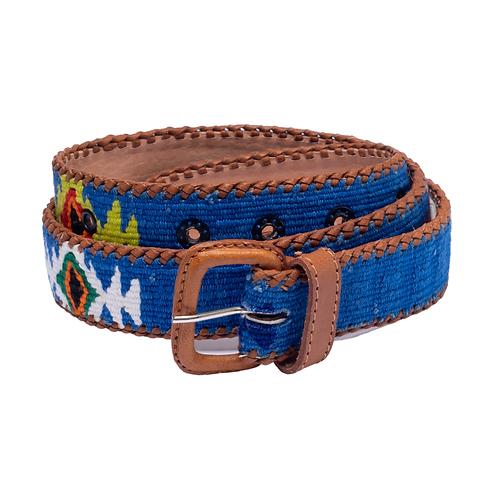 Blue Mexican Belt