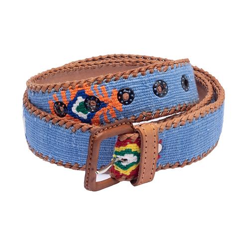 Light Blue Mexican Belt