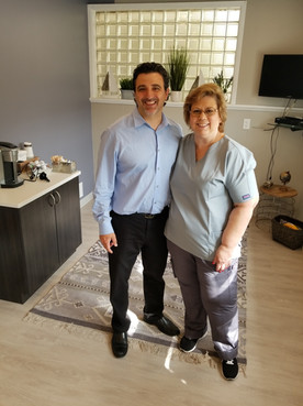 Dr. Occhipinti and Asst. Sue