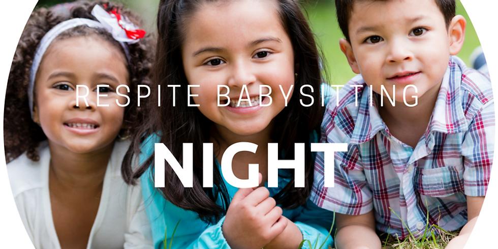 Respite Babysitting Night- FALL