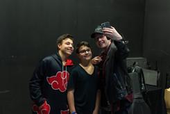 IHF19 backstage candid with Mack Brock