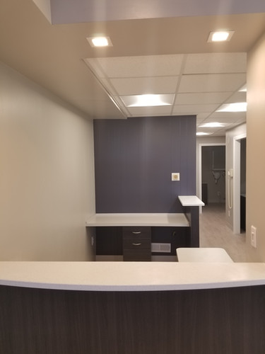 Entryway and Front Desk