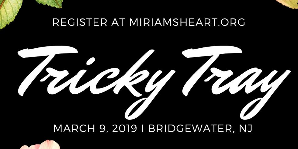 Miriam's Heart Tricky Tray