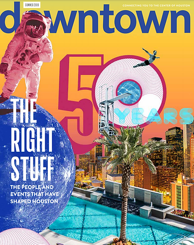Downtown Magazine - Feature Writing