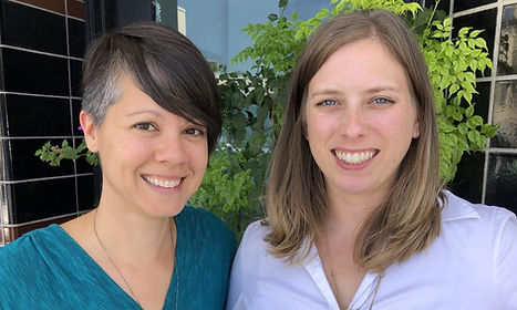 Amber and Lauren are partners at Ambrose McDowell Communications