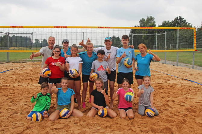 VOLLEYWÖLFE BEACHCAMP 2019: Super Stimmung!