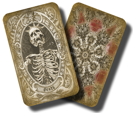 Deck of the Dead Tarot Deck 3 sizes