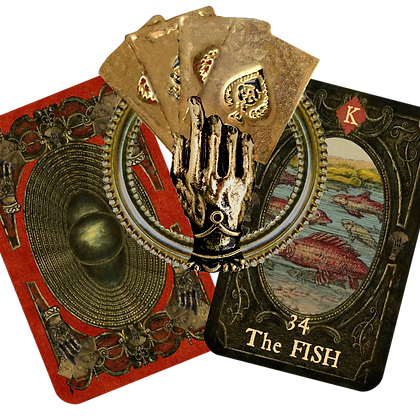 NEW!  The Gold Hand of Destiny Lenormand