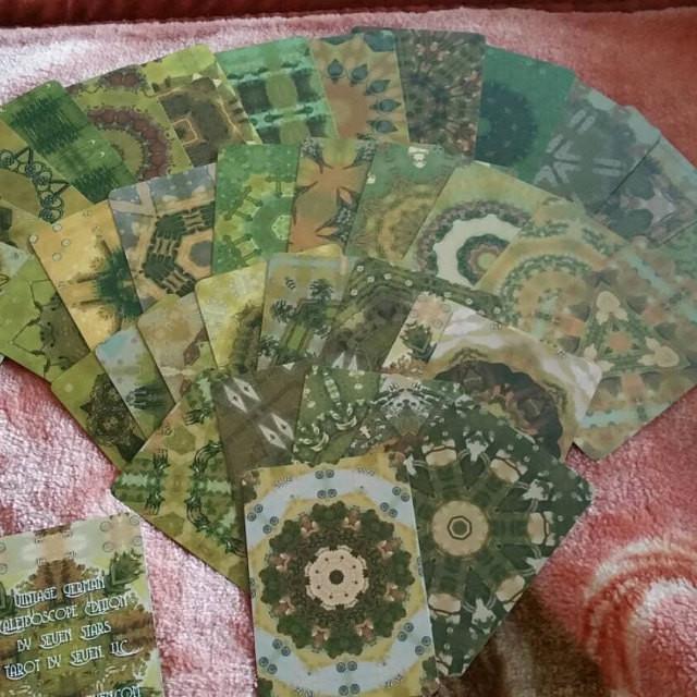 Vingage German Lenormand, Lenormand, Tarot by Seven, Kaleidoscope.jpg.jpg