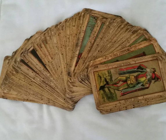 Tarot by Seven, tarot, deck of the bastard, custom tarot, waterproof.jpg