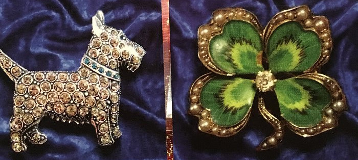 OPENED Jewelry Box Lenormand, Blue Velve