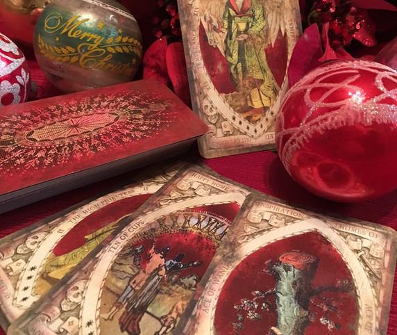 The Red Deck, Tarot by Seven, Tarot, Dec