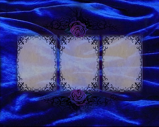 Jewelry Box Lenoracle 3 Card Reading Mat