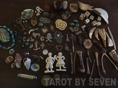 Bone Casting Collection by Tarot by Seven