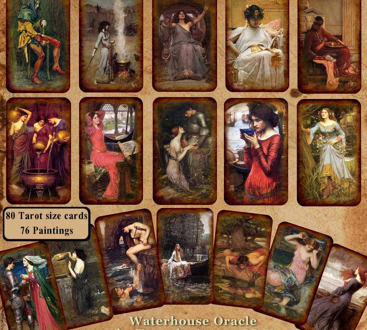 Waterhouse Oracle assortment.png