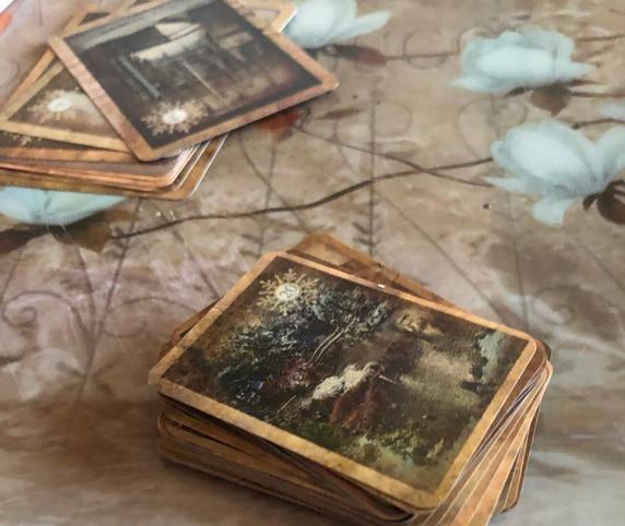 Natalie Rose Lenormand, Vintage, Tarot by Seven