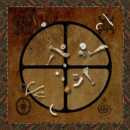 Tarot by Seven Bone Casting Cloth
