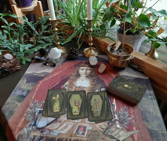 READING CLOTH TAROT BY SEVEN FORTUNE TEL
