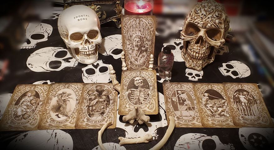tarot by seven Deck of the Dead Custom C