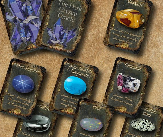 Dark Oracle Collection by Tarot by Seven