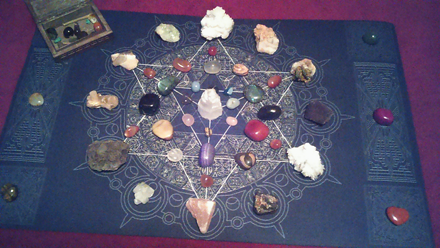 Crystal Grid, Tarot by Seven
