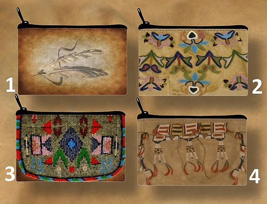 NEW! Native American Pouches