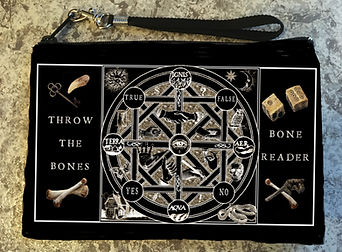 Bone Castin Pouch by Tarot by Seven