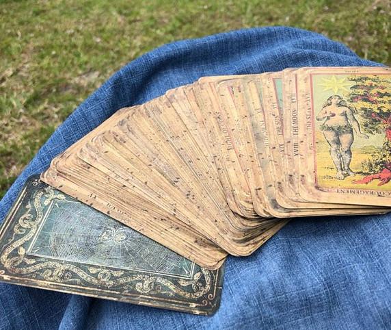 Tarot by Seven, Deck of the Bastard, Wat