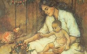 Charles_W._Bartlett_-_'Hawaiian_Mother_a