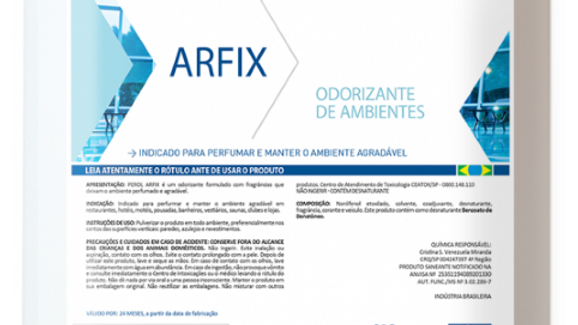 Perol Arfix Odorizante de ambientes 5L