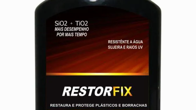 Restorfix Restaurador de Plásticos 200ml - Alcance
