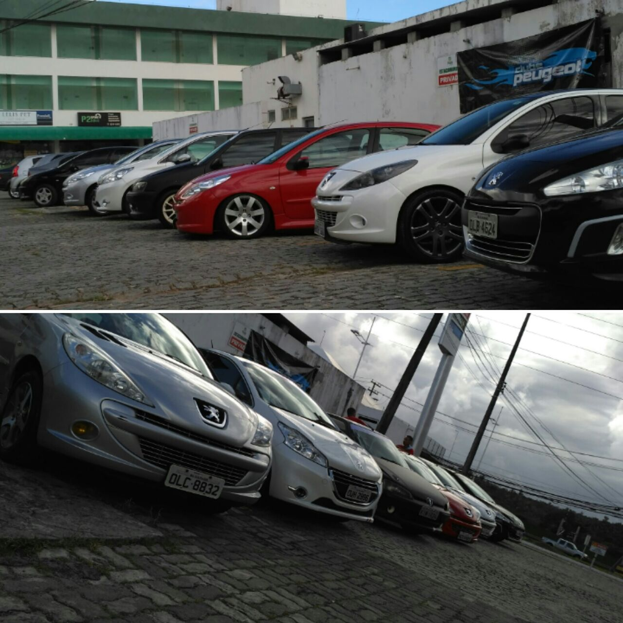 Encontro do Clube do Peugeot